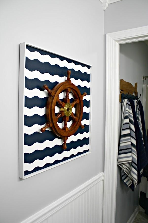 DIY nautical art