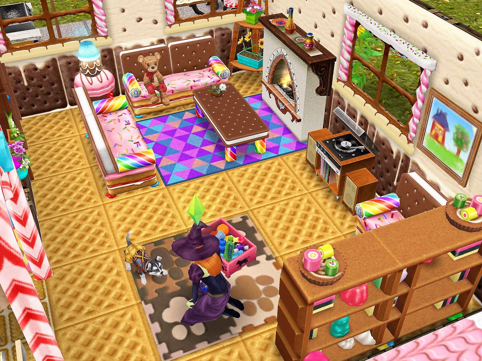 Sim house design workshop sims freeplay gingerbread house - Sims freeplay designer home ...