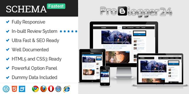 schema fastest seo wordpress theme