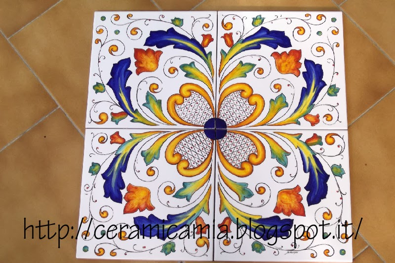 Ceramica che passione decorazioni per le mattonelle for Mattonelle da muro
