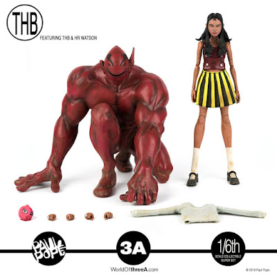 Paul Pope's THB & HR Watson 1/6 Scale Collectible Figure Set by ThreeA