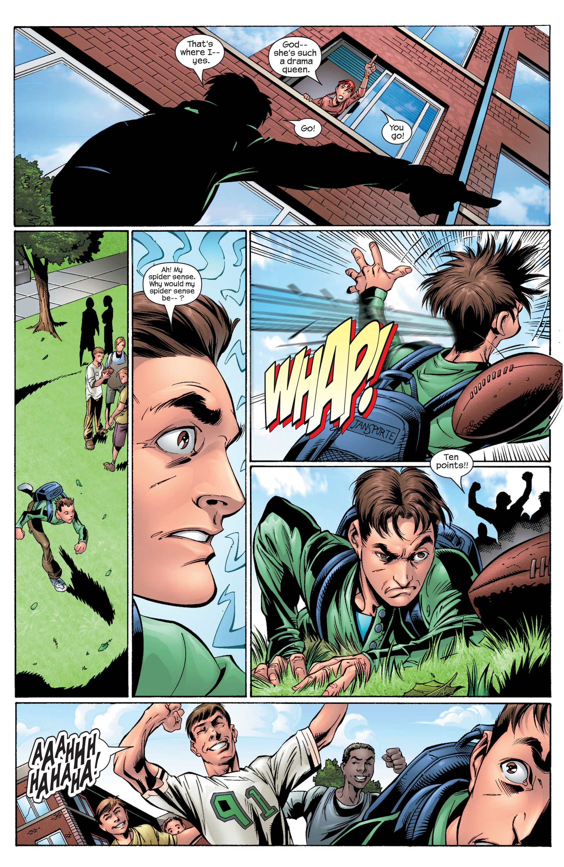 Read online Ultimate Spider-Man (2000) comic -  Issue #28 - 17