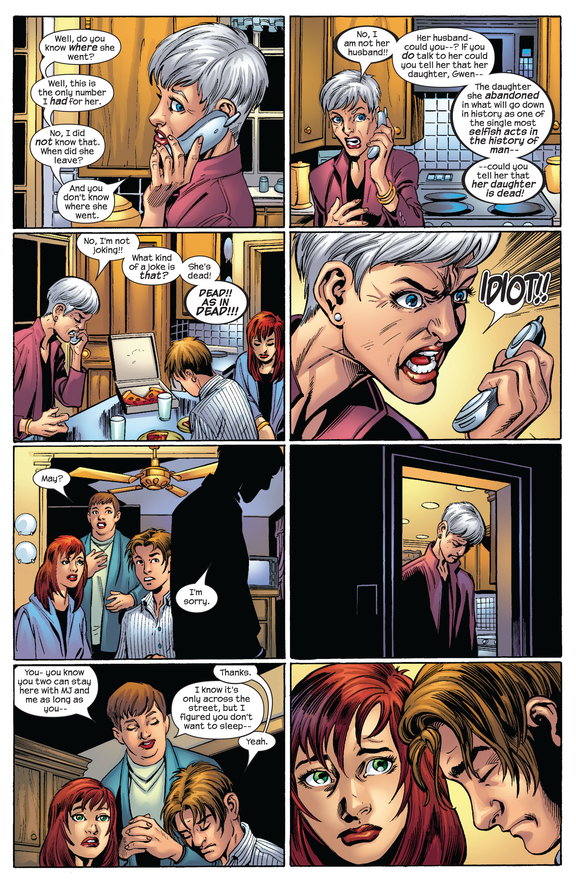 Read online Ultimate Spider-Man (2000) comic -  Issue #63 - 12