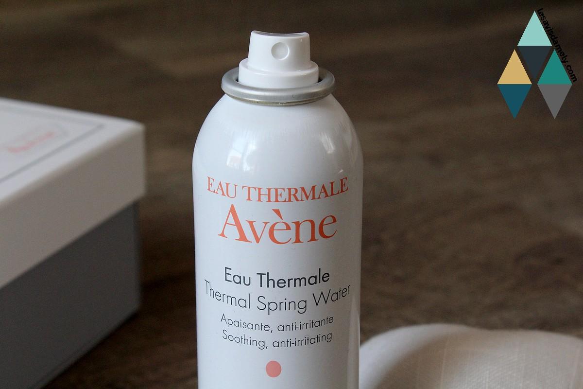 eau thermale apaisante peaux sensibles