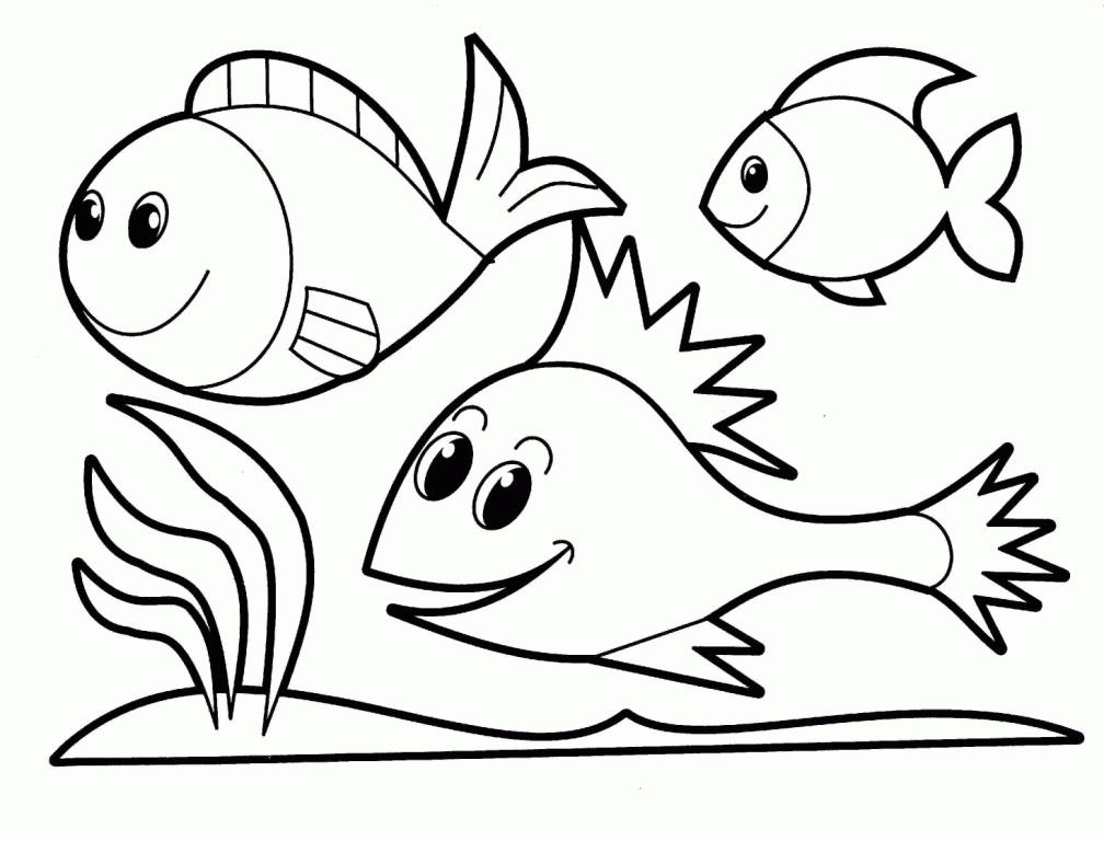 680+ Gambar Kartun Hewan Untuk Mewarnai Gratis Terbaru