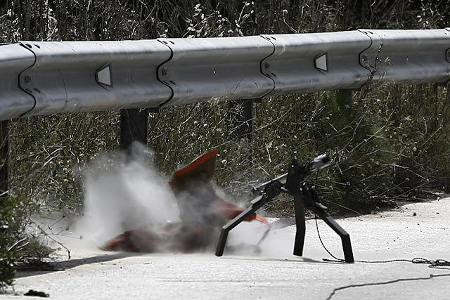 Ανακοίνωση της αστυνομίας για τον εκρηκτικό μηχανισμό στον κόμβο Νεμέας
