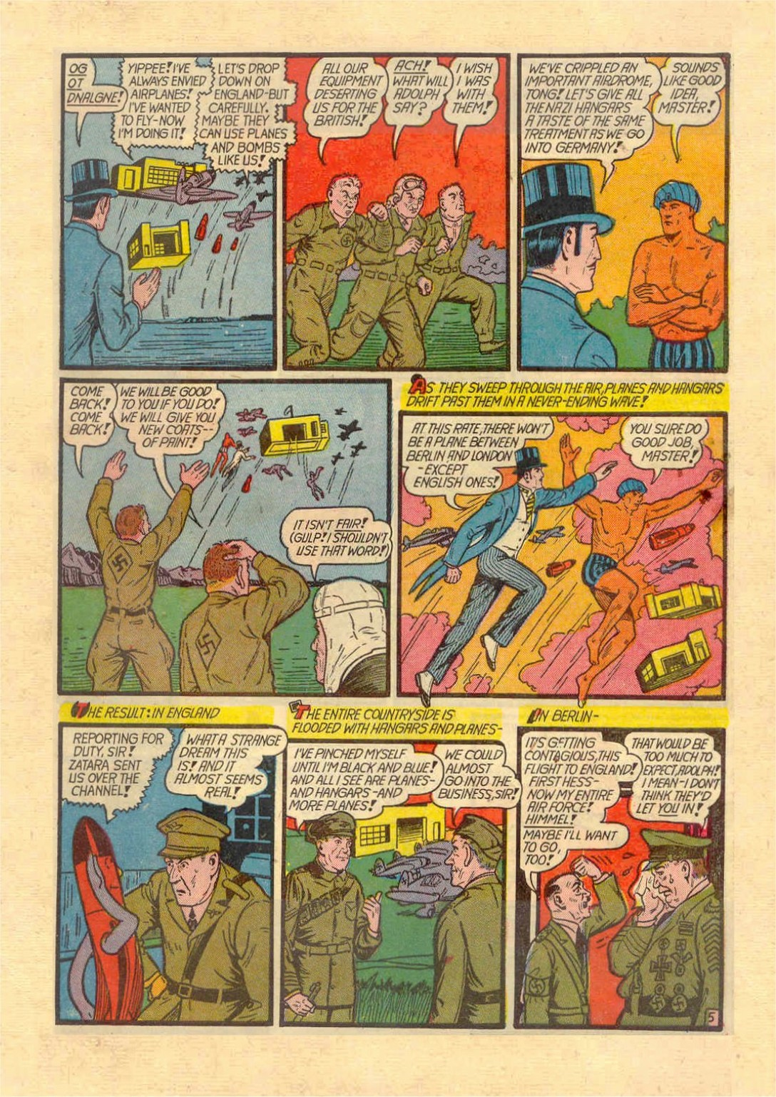 Read online Action Comics (1938) comic -  Issue #46 - 60