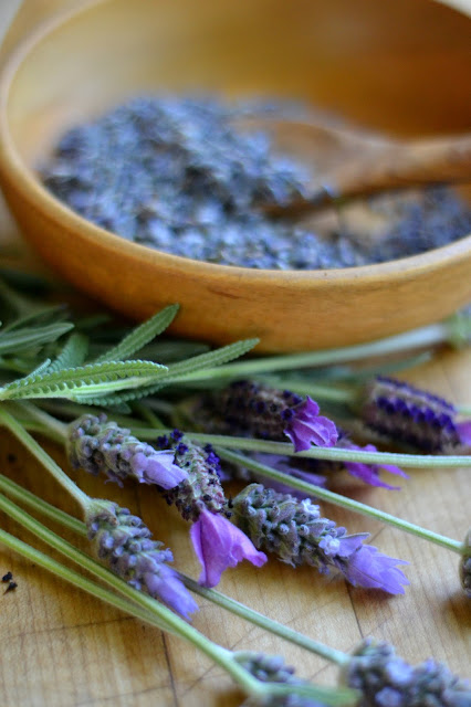 fresh lavender for lavender simple syrup