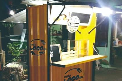 Jasa Booth Sederhana terbuat dari Bahan Besi Spandek