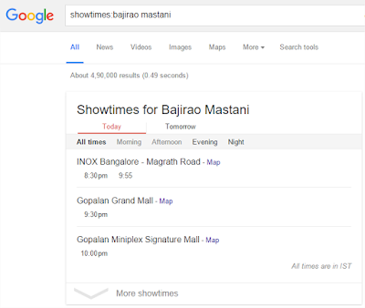Hal Menarik yang Bisa Di lakukan Google Search - Jadwal tayang
