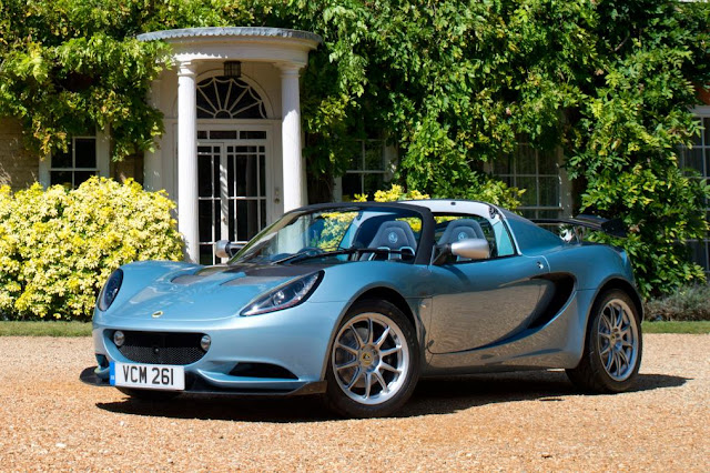 lotus Elise 250 Limited & Special Edition front view