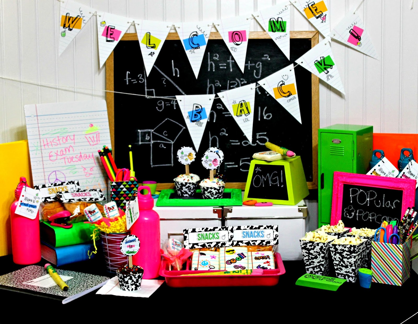 Cupcake Wishes Amp Birthday Dreams Inspired Party School