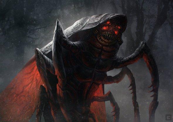 Billy Christian billcreative deviantart ilustrações fantasia ficção científica games sombrio