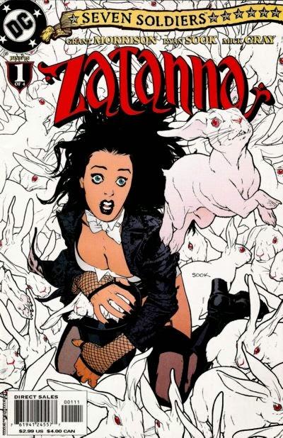 Constantine Zatanna Porn - Seven Soldiers of Victory: Zatanna (#1-4)