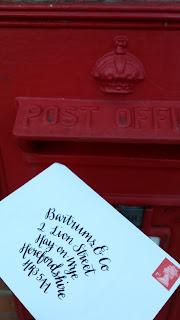 Alice Draws The Line :: addressed envelope