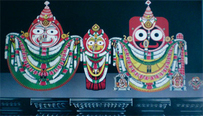 Radha Damodar Besha, Costume Of Lord Jagannath