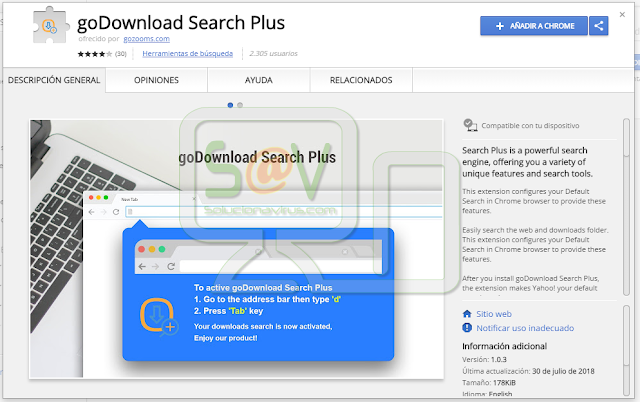 goDownload Search Plus (Hijacker)