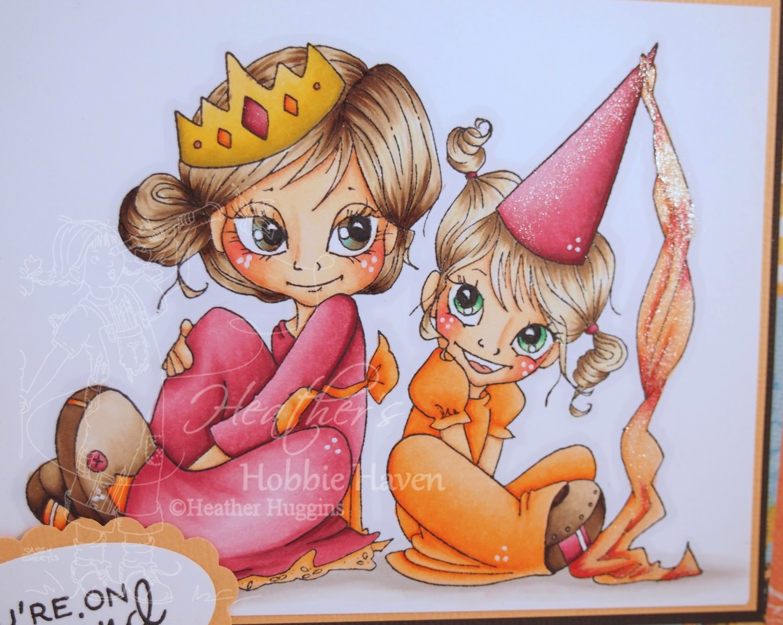 Heather's Hobbie Haven - Queenie & Princess Card Kit