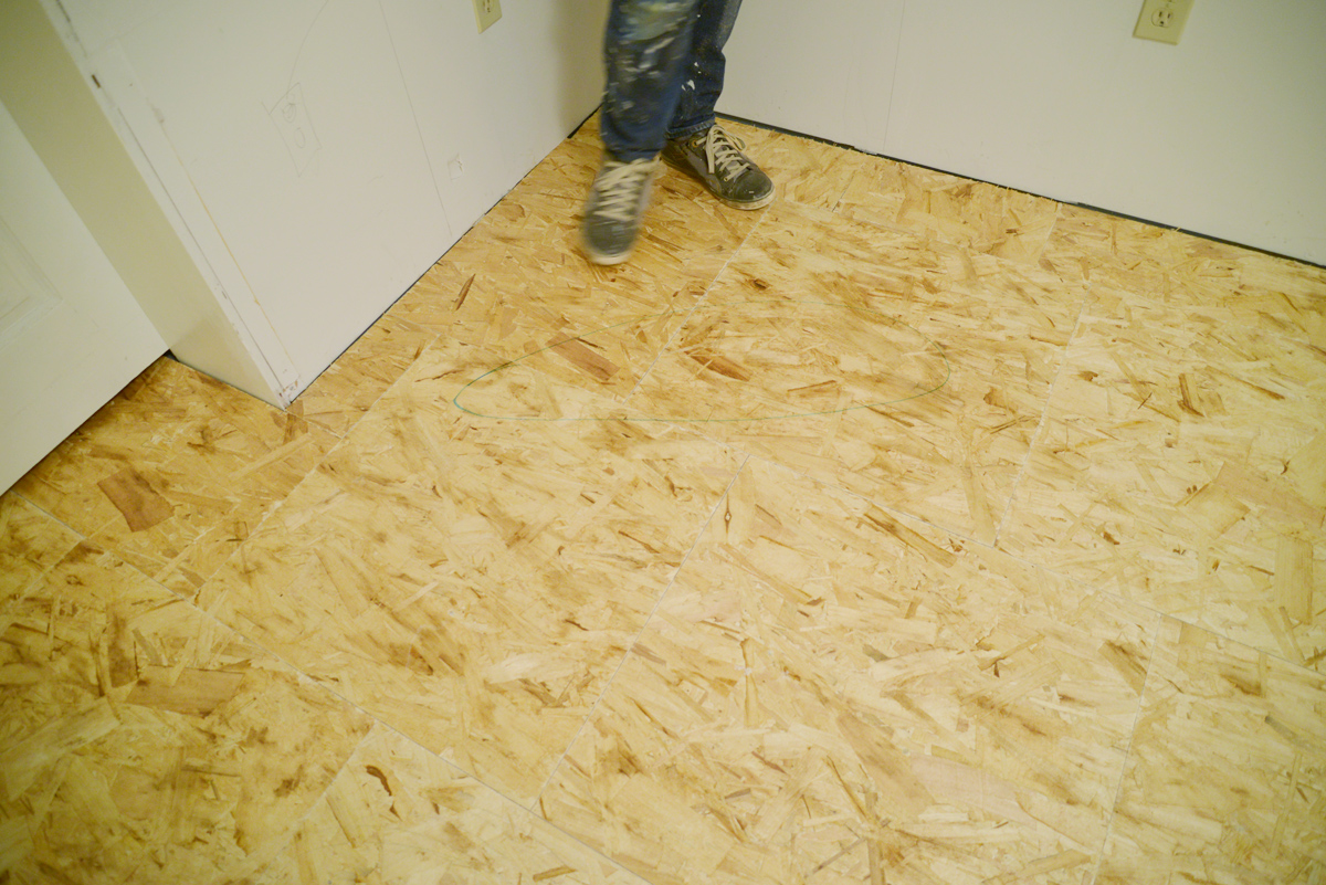 laminate flooring feels bouncy, dricore subfloor, how to install laminate