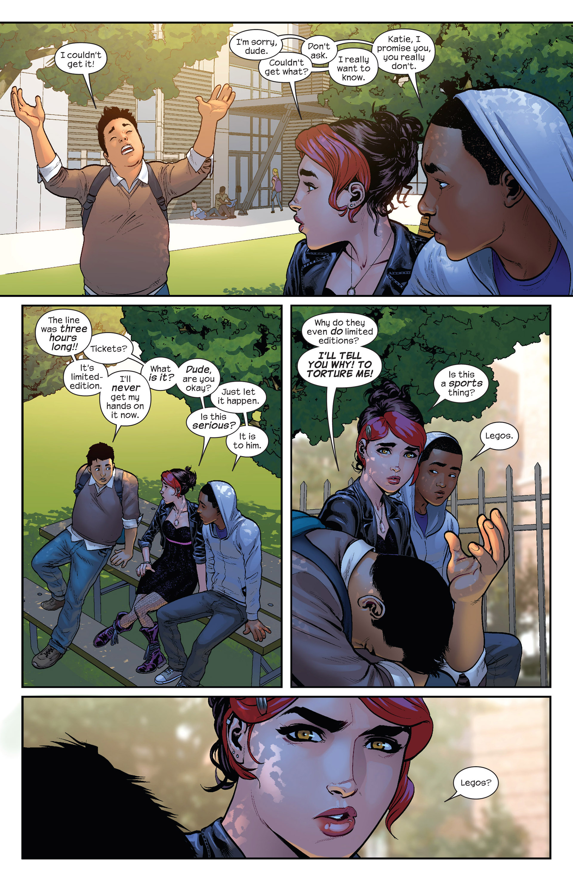 Read online Ultimate Comics Spider-Man (2011) comic -  Issue #23 - 5