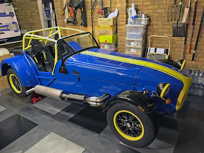 2017 Caterham Academy Car with wheels fitted - very nearly finished