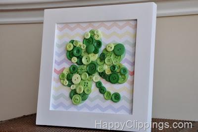 http://www.happyclippings.com/2013/02/diy-shamrock-button-art-with-rainbow-chevron-background.html