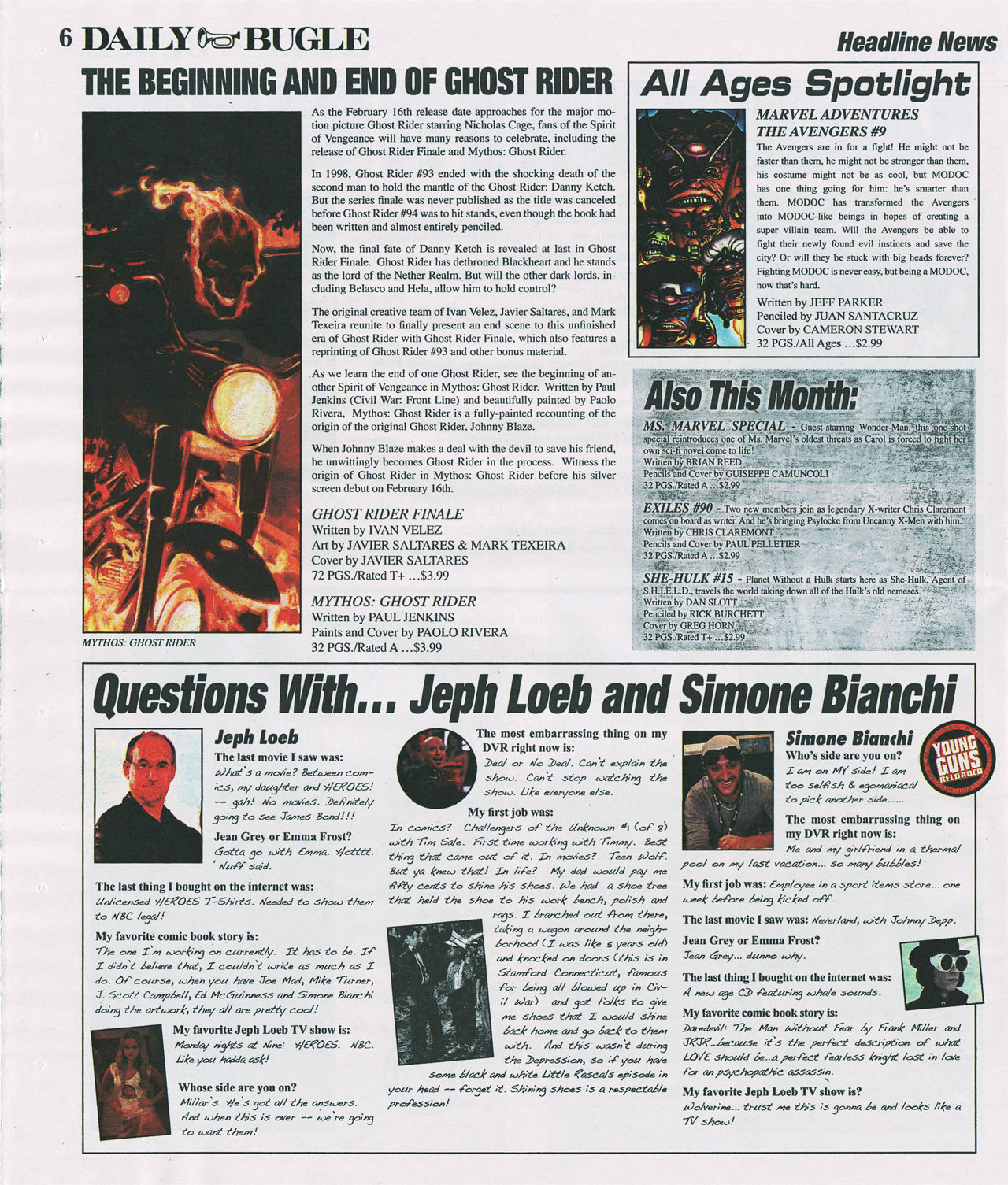 Read online Daily Bugle (2006) comic -  Issue #4 - 6
