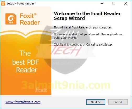 فوكست ريدر Foxit Reader - عالم التقنيه