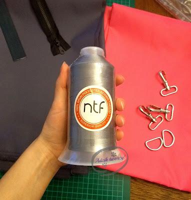 Adzik tworzy - torebka DIY jak uszyć
