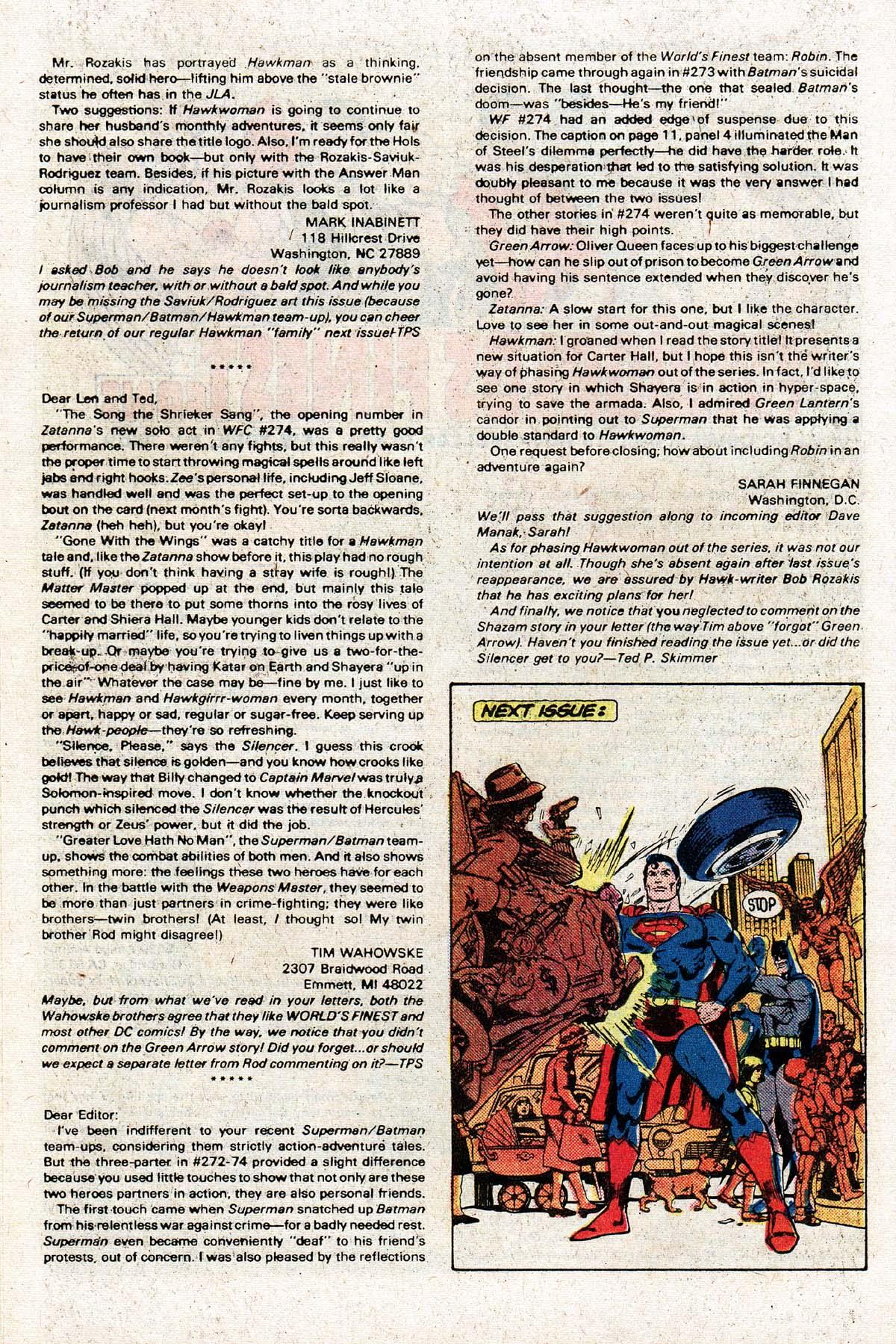 Read online World's Finest Comics comic -  Issue #278 - 26