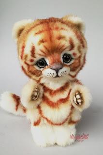 Artist teddy tiger, teddy ooak, Natalie Lachnitt, Clemens Spieltiere, авторская игрушка, тедди тигр, NatalKa Creations, teddies with charm, tiger teddy, artist tiger, Künstler Tiger, Unikat, Künstlerteddy, Teddy, Teddys, Tiger, тигр тедди