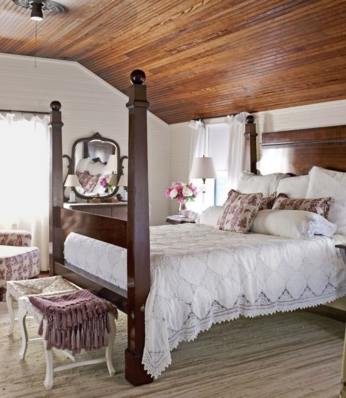 inspiring country chic bedroom decorating ideas | Follow The Yellow Brick Home - Dreamy Bedrooms Inspiration ...