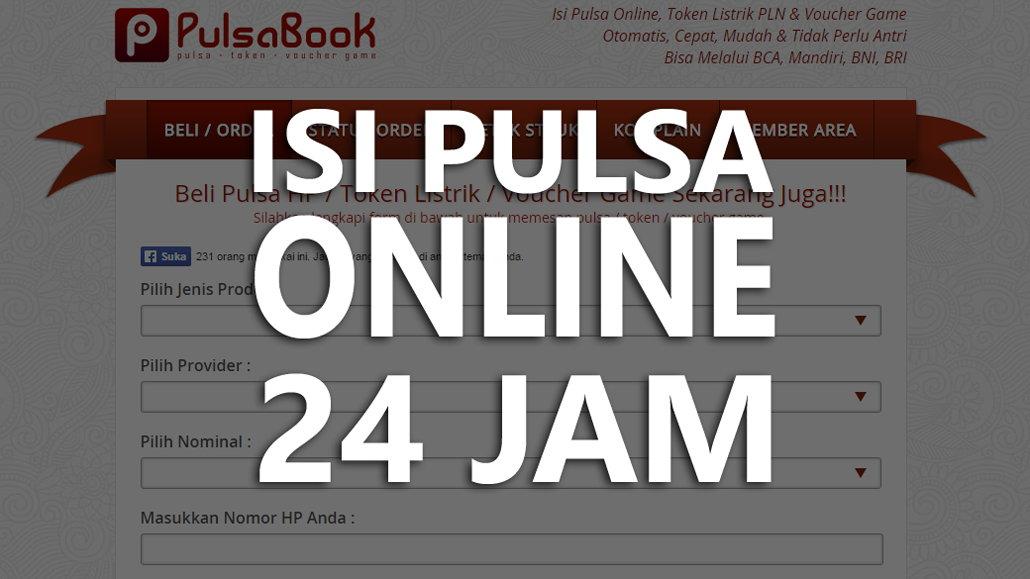 Beli Pulsa Dan Token Listrik Online Murah 24 Jam