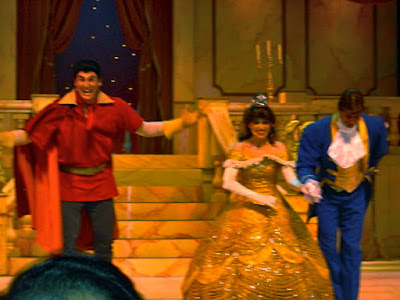 Beauty and the Beast Show at Hollywood Studios in Orlando Florida