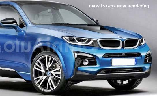 BMW i5 Gets New Rendering