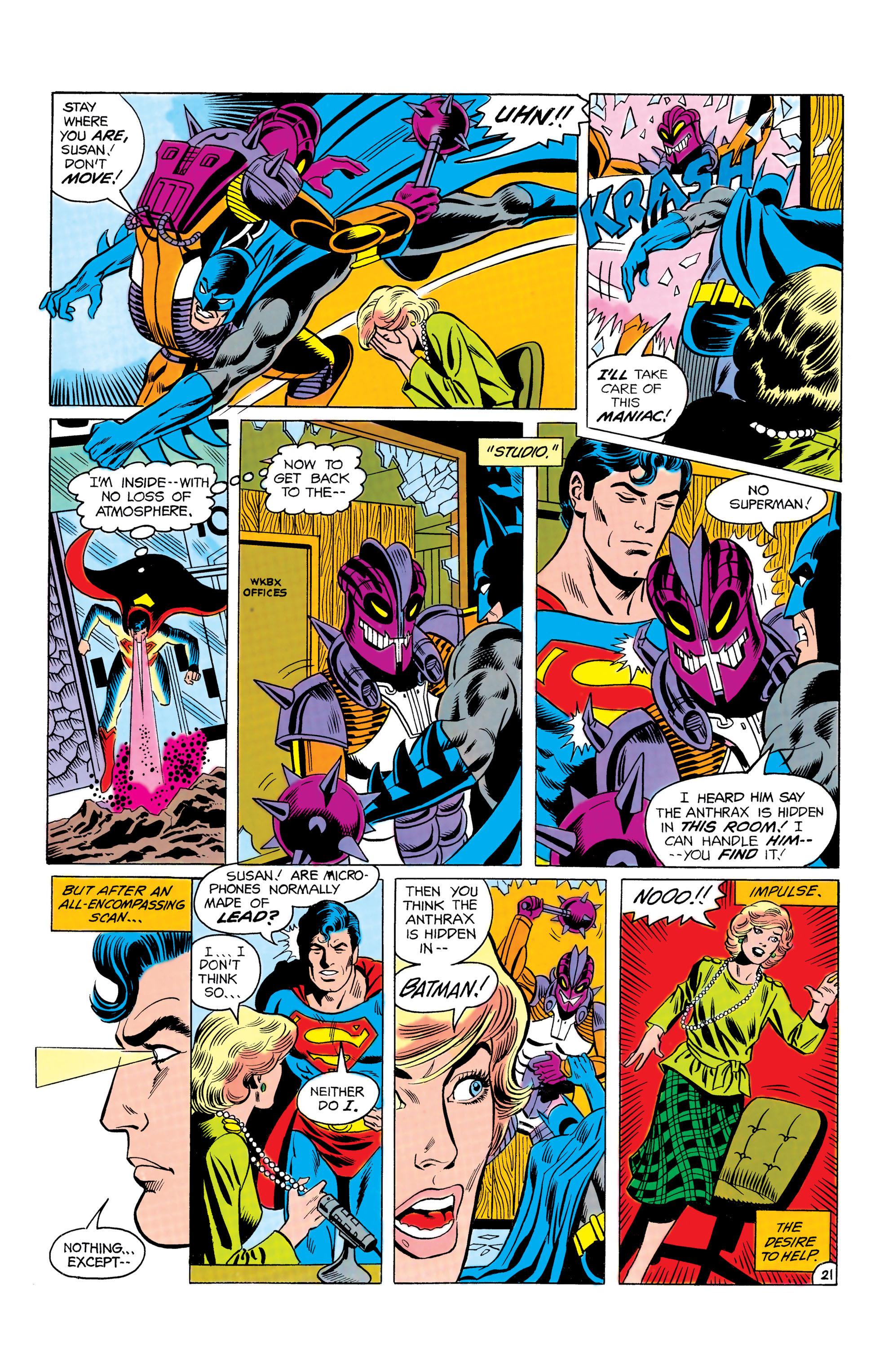Read online World's Finest Comics comic -  Issue #292 - 22