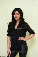 Shruti Haasan Looks Stunning trendy cool in Black relaxed Shirt and Tight Leather Pants ~ .com Exclusive Pics 030.jpg