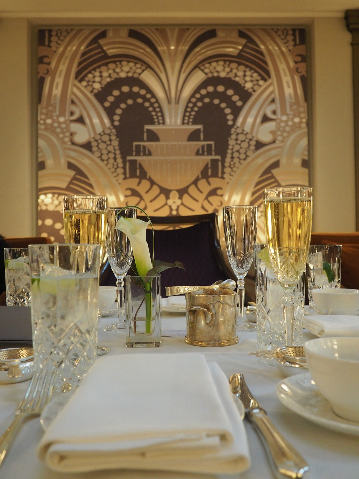 Hitting the high notes – A limited edition jazz afternoon tea at the Sheraton Grand Hotel Park Lane Hotel