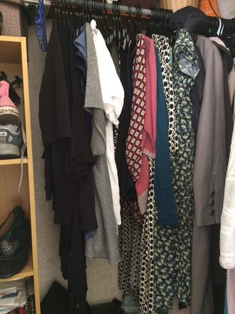"The beginnings of my ""capsule wardrobe"" - Coby aims to add more colour!"