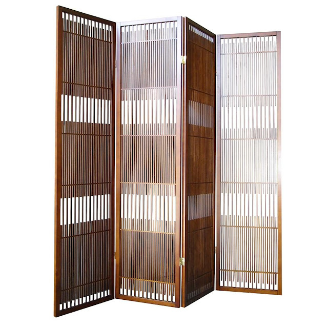elegant room dividers with 4 panel ideas