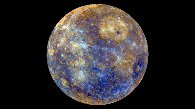 Geologists identify the mineralogy of Mercury