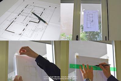 dibujo jardines, planos de jardinería, planos paisajismo, dibujar plantas, rotuladores acuarelables, proyectos de paisajismo, diseño jardines