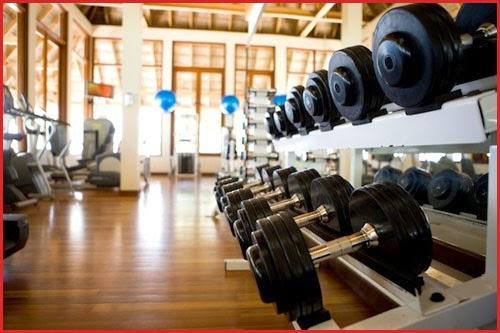 Gym và Spa đầy đủ