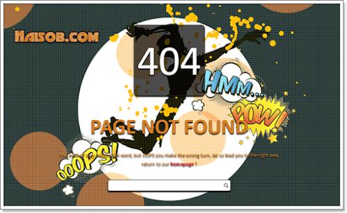 Error Page 404 Falling Zombie