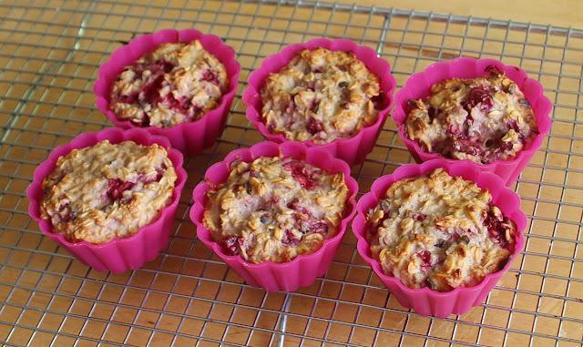 zdrowe muffiny owsiane