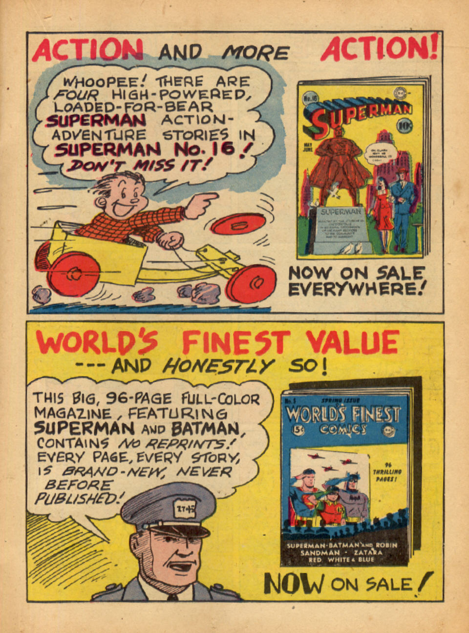 Read online Action Comics (1938) comic -  Issue #48 - 29