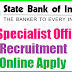 SBI Recruitment 2017 Apply Online
