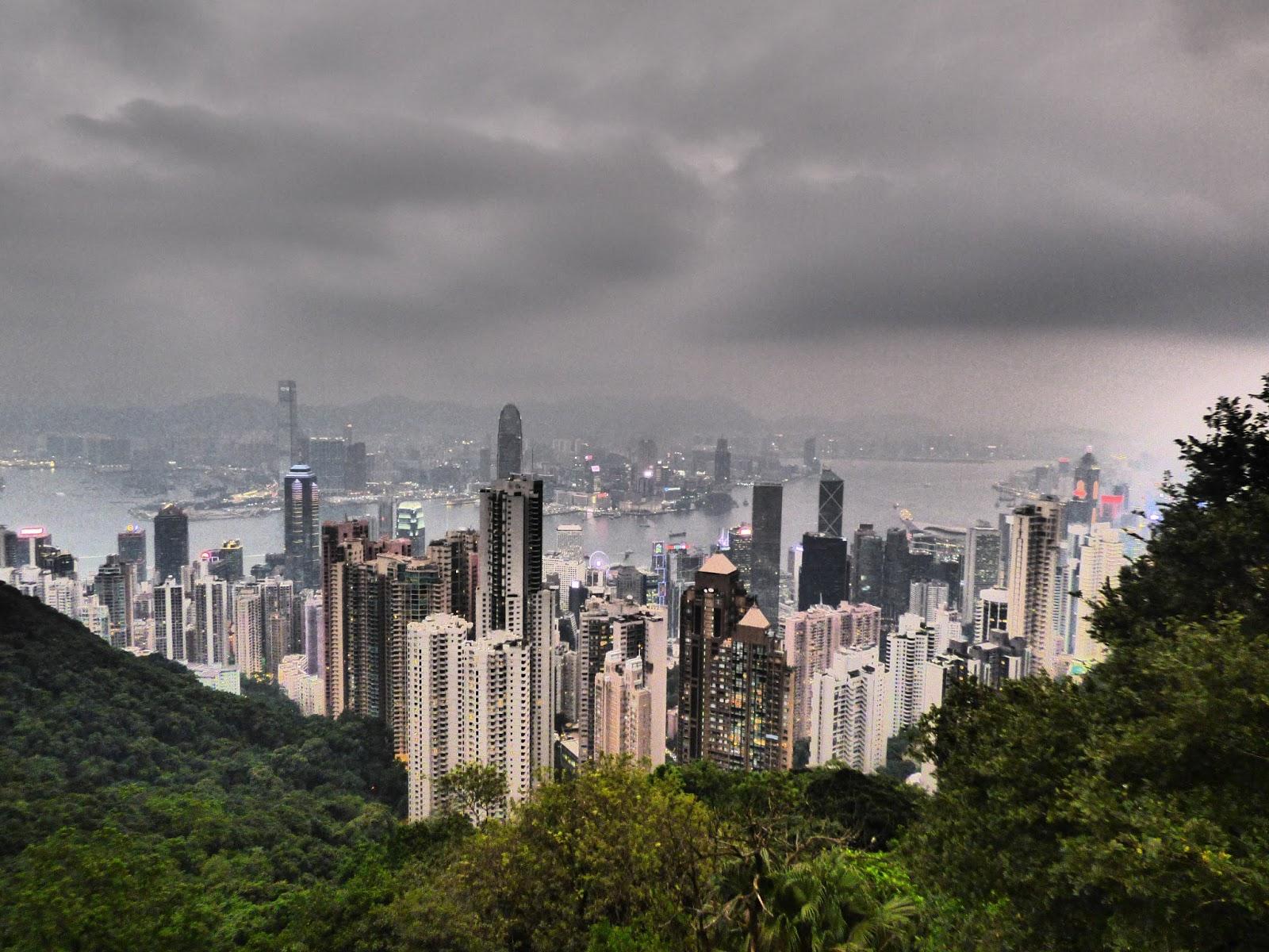 Viktória-csúcs Hongkong
