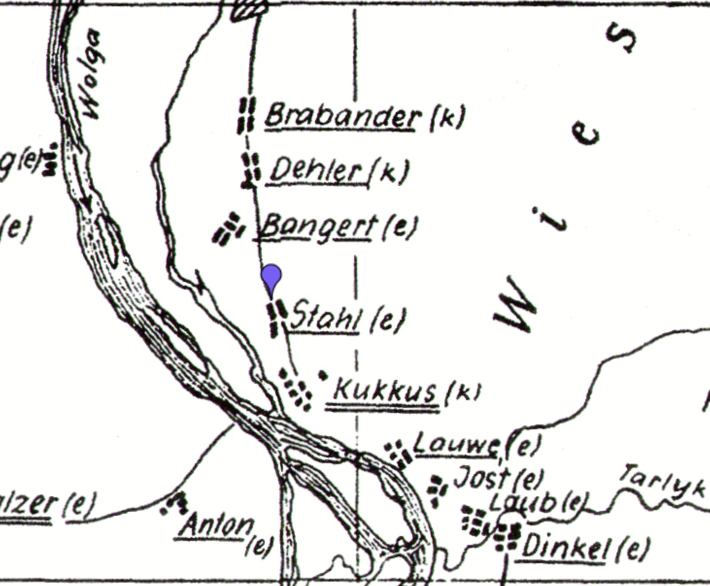 Germans From Russia Settlement Locations On This Day 13