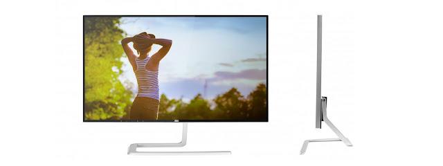AOC giới thiệu 2 màn hình 2K với viền siêu mỏng, giá từ 350 USD